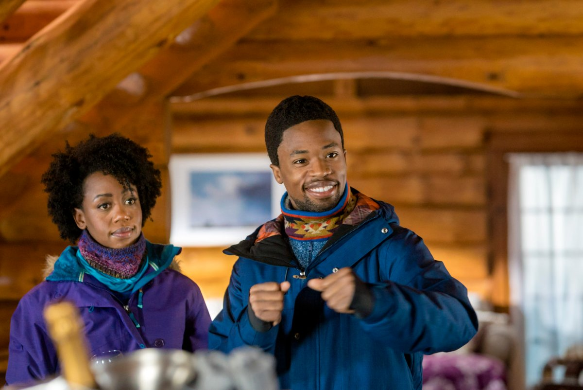 "Exclusive: An Interview With Rukiya Bernard From ""One Winter Weekend"" A Hallmark Channel Winterfest Original Movie"